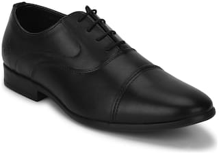 Bond Street by Red Tape Men Black Oxford Formal Shoes