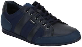 Men Navy Blue Classic Sneakers
