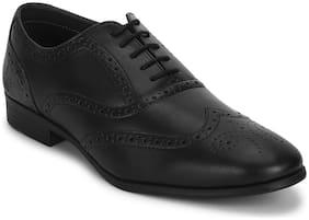 Men Black Brogues Formal Shoes