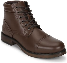 Men Brown Outdoor Boots