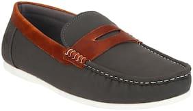 Men Grey  Loafers