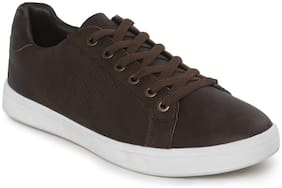 Men Brown Classic Sneakers