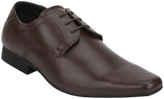 Bond Street Men Brown Derby Formal Shoes - BSS0872D