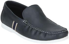 Men Navy Blue  Loafers