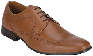 Bond Street Men Tan Formal Shoes - Bss1103