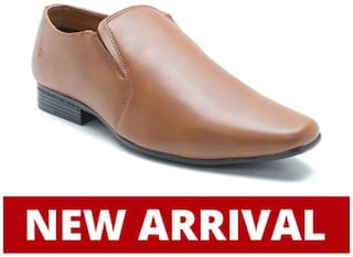 Bond Street Men Tan Formal Shoes - Bss0153