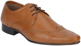 Bond Street Men Tan Formal Shoes - Bse0123