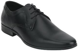 Bond Street by Red Tape Men Black Derby Formal Shoes - BSS0921