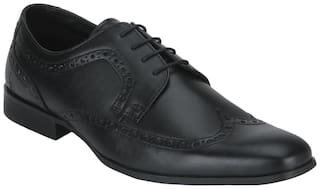 Bond Street Men Black Formal Shoes - Bss1101