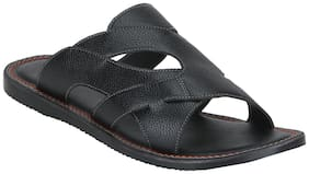 Bond Street By Red Tape Men Black Sandals-RSP0441 BLK-9