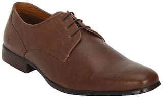 Bond Street by Red Tape Men Tan Derby Formal Shoes - BSS0973