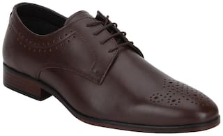 Bond Street by Red Tape Men Brown Brogues Formal Shoes - BSS1122