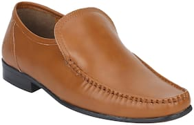 Bond Street By Red Tape Men Tan Formal Slip-On Shoes