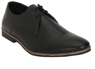 Bond Street Men Black Formal Shoes - Bss1001