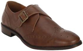 Bond Street Men Tan Formal Shoes - Bss0993
