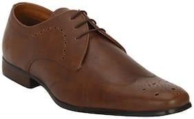 Bond Street Men Tan Formal Shoes - Bss1113