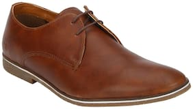 Bond Street By Red Tape Men Tan Derby Casual Shoes-BSS1003 TAN-9