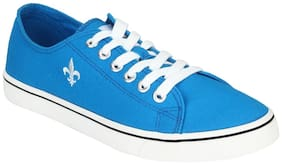 Men Blue Classic Sneakers