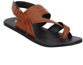 Bond Street By Red Tape Men Tan Sandals-RSP0533 TAN-9
