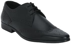 Bond Street Men Black Formal Shoes