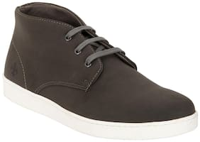 Bond Street Men Grey Casual Shoes