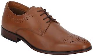 Bond Street Men Tan Formal Shoes - Bss1123
