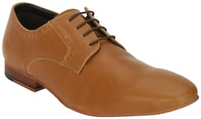 Bond Street by Red Tape Men Tan Derby Formal Shoes