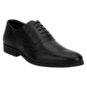 Bond Street Men Black Formal Shoes - Bss0021