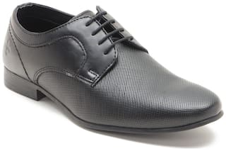 Bond Street by Red Tape Men Black Derby Formal Shoes - BSS0061
