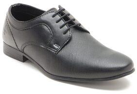 Bond Street Men Black Formal Shoes