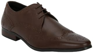 Bond Street by Red Tape Men Brown Brogues Formal Shoes - BSS0912