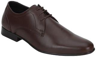Bond Street Men Brown Derby Formal Shoes - BSS1132
