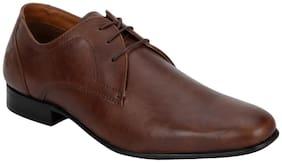 Bond Street Men Tan Formal Shoes - Bss1133