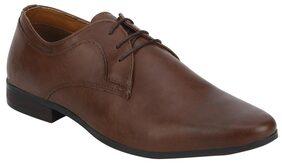 Bond Street Men Tan Formal Shoes