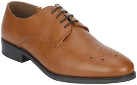 Bond Street Men Tan Formal Shoes