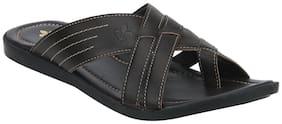 Bond Street Men Brown Outdoor slippers