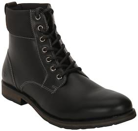 Bond Street Men's Black Ankle Boots