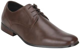 Bond Street by Red Tape Men Brown Derby Formal Shoes - BSS0972
