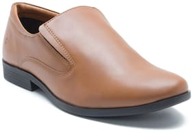 Bond Street by Red Tape Men Tan Slip-On Formal Shoes