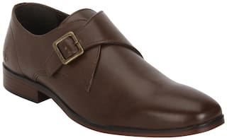 Bond Street Men Brown Formal Shoes