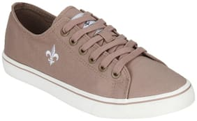 Men Beige Classic Sneakers