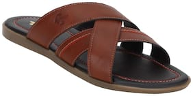 Bond Street Men Tan Outdoor slippers