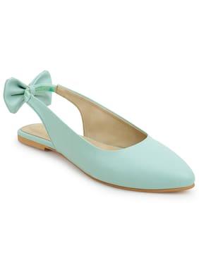 Scentra Women Blue Sandals