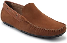 Scentra Men Brown Loafers