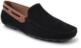 Scentra Men Black Loafer - Bossmansuede Loafer Black