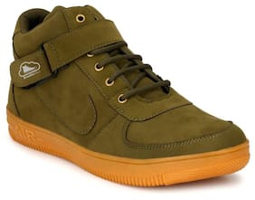 BROOKE Men Green Casual Shoes