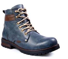 Brooke Men's Styalish Blue Outdoor Boot