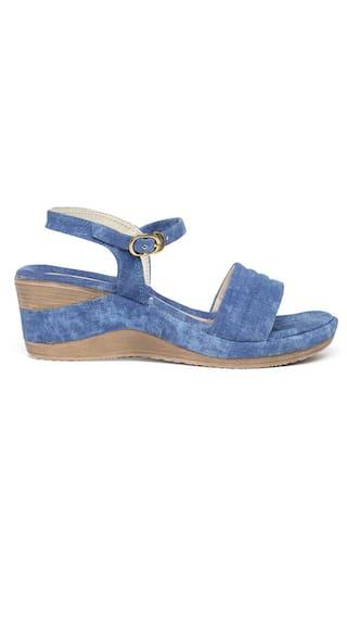 Bruno Manetti Women Blue Wedges