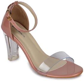 Bruno Manetti Women Pink Sandals