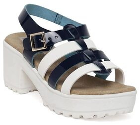 Bruno Manetti Women Blue Sandals